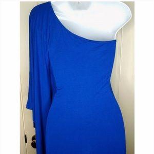 One shoulder dress/ tunic